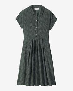 FOULARD SHIRT DRESS by TOAST