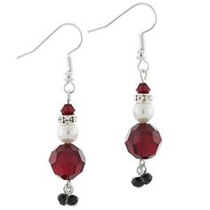 Santa Baby Earrings | Fusion Beads Inspiration Gallery