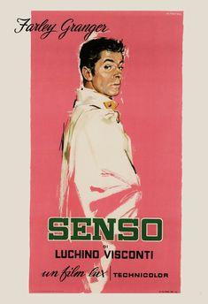 RETRO MOVIE POSTER Senso Film Poster Fraley Granger