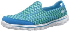 Amazon.com: Skechers Women's Go Walk 2 Chevron Walking Shoe: Shoes