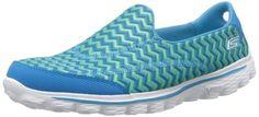 Amazon.com: Skechers Women's Go Walk 2 Chevron Walking Shoe: Shoes