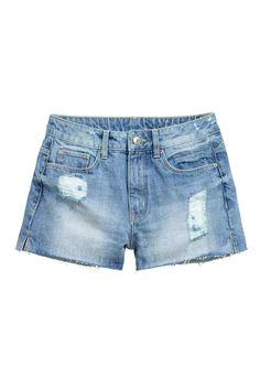 Short en jean Taille haute | H&M