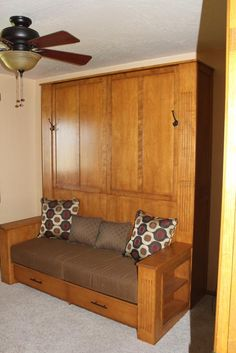Studio Apartment Murphy Bed fold down bed mechanism - side mount twin, perfect for small rooms