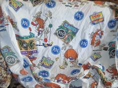 1995 Officials Pog Sheets Twin Fitted by Daysgonebytreasures