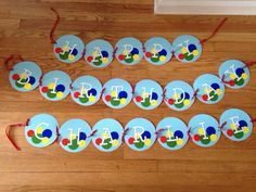 Bouncy Ball Birthday Party Theme Banner Bounce by bannerplanner, $30.00