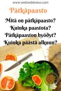 Pätkäpaasto – Wellwebbness Cantaloupe, Healthy Lifestyle, Fruit, Food, Essen, Meals, Healthy Living, Yemek, Eten