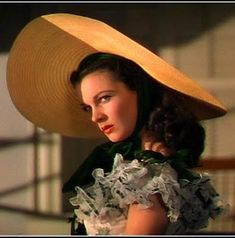 Scarlett OHara, right after Mammy says 'What gentlemen says and what they thinks is two different things, and I ain't noticed Mr. Ashley askin' for to marry you'.