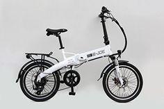2015 e-JOE Epik SE Frosty White Folding Electric Bike ** Want to know more, click on the image.