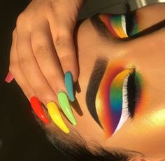 Gorgeous Makeup: Tips and Tricks With Eye Makeup and Eyeshadow – Makeup Design Ideas Makeup Eye Looks, Cute Makeup, Glam Makeup, Pretty Makeup, Makeup Inspo, Eyeshadow Makeup, Beauty Makeup, Nail Inspo, Makeup Ideas