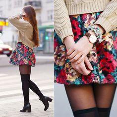 Floral skirt (by Ariadna Majewska)