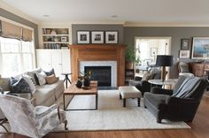 Image result for art above fireplace
