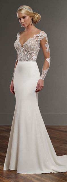 a438ac299bc6b Martina Liana Spring 2016 Bridal Collection