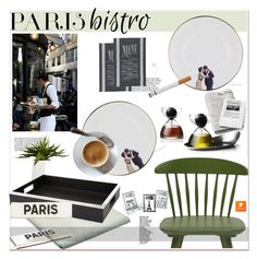 """Parisian Bistro"" by paculi ❤ liked on Polyvore featuring interior, interiors, interior design, home, home decor, interior decorating, CB2, Dot & Bo, Rosanna and Home"