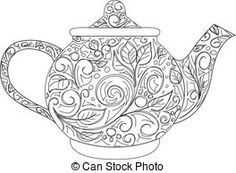 Teapot Clipart and Stock Illustrations. 6,562 Teapot vector EPS ...