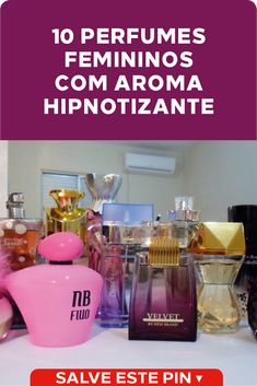 10 perfumes femininos com aroma hipnotizante Conheça os melhores perfumes femininos com aroma hipnotizante que inebria quem está ao redor. Descubra qual fragrância combina mais com seu estilo. #perfumes #fragrancias #femininos Bandeja Perfume, Wax Warmer, Make Up, Personal Care, Hair, Peles, Chic Perfume, Face Exercises, Aromatherapy