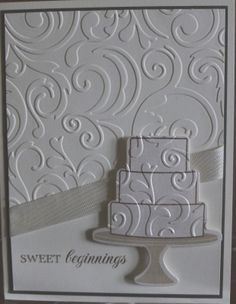 Have Coffee, Will Stamp: Bridal Shower Card
