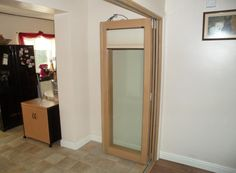 Folded back Finesse 3M Bifold Doors