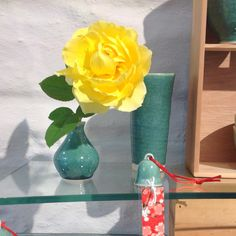 "Copper glazed vases & ""Go-yen"" bell.  Dianne Collins, Melbourne"
