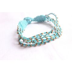 Shop Crochet Threads And Beads Friendship Band / Rakhi / Bracelet Pretty To Wear Handmadese by Konichiwa online. Largest collection of Latest Bracelets and Bangles online. ✻ 100% Genuine Products ✻ Easy Returns ✻ Timely Delivery
