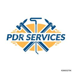 Paintless Dent Repair logo, PDR service logo, automotive company - Buy this stock vector and explore similar vectors at Adobe Stock Service Logo, Logos, Royalty Free Stock Photos, Ads, Logo
