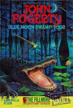 John Fogerty concert poster.  Love it.