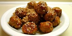 Lækre asiatisk inspirerede kødboller, der er fuldstændig proppet med smag. En klar favorit herhjemme. Tapas Recipes, Asian Recipes, Ethnic Recipes, Always Hungry, Food For Thought, Carne, Buffet, Dinner, Cooking