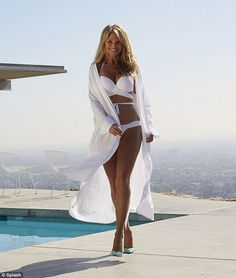 Christie Brinkley looking amazing at 60 years old.