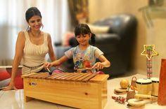 A importância da música no aprendizado das crianças.