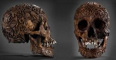 Experts from a wide array of organizations are examining an intricately carved skull discovered in an antique shop in Vienna in 2011. The skull, believed to be 300 years old, is completely covered wit