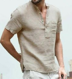 Hot Fashion Men Casual Short Sleeve V Neck Loose Shirts - Hot Fashion Men Casual Short Sleeve V Neck Loose Shirts – kidenhome Source by kidenhome - Loose Shirts, Henley Shirts, Men's Shirts, Linen Shirts, Types Of Shirts, Casual Tops, Casual Shirts, Men Casual, Casual Styles