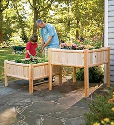 Image detail for -Raised Connection Raised Garden Raised Garden Beds - shabby chic ...
