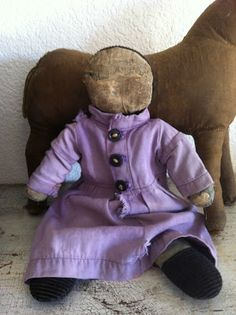 SympleTymes Cloth Art By Sherrie Nordgren: 19th c Early Cloth Amish Rag Doll