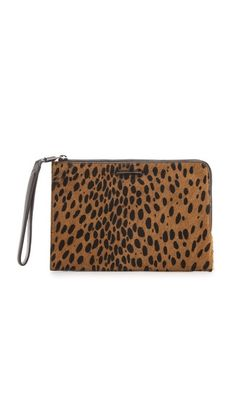 Shopbop is on sale - woohoo! LOVE this Elizabeth and James ponyhair leopard clutch...