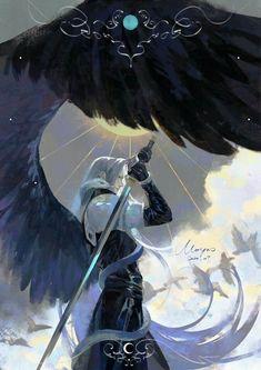 Fantasy Magic, Final Fantasy Cloud, Final Fantasy Artwork, Final Fantasy Vii Remake, Fantasy Series, Video Game Characters, Fantasy Characters, Character Art, Character Design