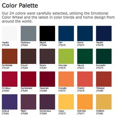 Modern Masters Color Palette