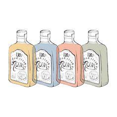 100% jamaican rum, 1% alcohol free. Ya gitu deh.. *tring!* . . #illustration #illustree #liquor #bottle #minimal #graphicdesign #design #drawing #artwork #poster #pattern #dailyinspiration #jamaicanrum #drinks #alcohol #drawingeveryday #ink #colors #branding