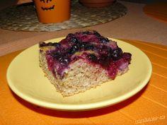 ŠPALDOVÝ OVOCNÝ KOLÁČ BEZ CUKRU A BEZ TUKU. Czech Recipes, Meatloaf, Yummy Food, Baking, Czech Food, Cake, Fitness, Desserts, Beautiful