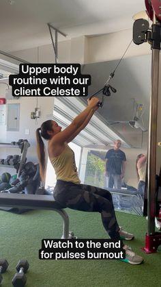 Gym Workout Videos, Gym Workout For Beginners, Gym Workouts, Chest Workouts, Upper Body Workouts, Flexibility Workout, Dumbbell Workout, Shoulder Workout, Planer