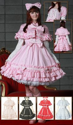 Bodyline-l082 in pink, love the neckline and bodice.