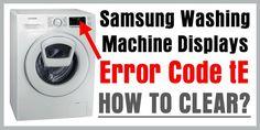 samsung washing machine error codes le