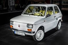 "The most famous FIAT 126 - ""maluch"" for Tom Hanks."