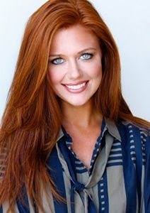 gorgeous red hair color! If only I had blue or green eyes! This woman