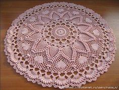 ergahandmade: Crochet Doily + Diagrams