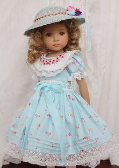 "Embroidered Heirloom Ensemble for Effner 13"" Little Darling Dolls | eBay:"