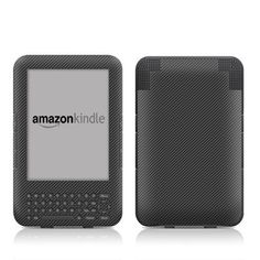 Carbon Design Protective Decal Skin Sticker for Amazon Kindle Keyboard / Keyboard 3G (3rd Gen) E-Book Reader - High Gloss Coating by MyGift. $16.99. This scratch resistant skin sticker used High Gloss Coating which is the standard glossy finish and helps to protect your Kindle Keyboard / Keyboard 3G (3rd Generation - release in July 2010) E-Book Reader while making an impression. Self-adhesive plastic-coated skins cover the front and back surfaces of the Kindle 3rd Gen...