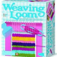 Let your little one's creativity and imagination bloom with this beginner's Weaving Loom Craft Kit. This kit contains everything your little one needs to excitingly create three coasters, and a mobile phone bag. Craft Kits For Kids, Crafts For Kids, Arts And Crafts, Diy Crafts, Creative Crafts, Loom Craft, Weaving Projects, Craft Projects, Rainbow Loom