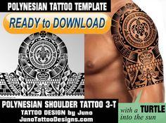polynesian tattoo, polynesian turtle, tattoo template, juno tattoo designs