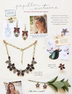 Papillon Nocturne Collection Inspiration is HERE and is a Limited Edition!  Shop now at: www.chloeandisabel.com/boutique/yourbeautycop