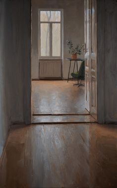 Viennese Interior | From a unique collection of interior paintings at https://www.1stdibs.com/art/paintings/interior-paintings/