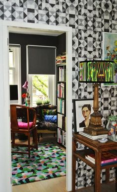 Name: Mariska Location: Amsterdam I am about to embark on a new adventure in Amsterdam and would like to share my 117 square meter (1,259 square feet) home, which I completely renovated. I bought it 10 years ago and immediately fell in love with it because it had a fireplace. The house was quite a mess as it had been rented out for a longer period and had not been renovated since the 70s. My style is eclectic, I love collecting art & objects.